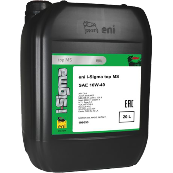 Agip Eni i-Sigma Top MS 10W-40