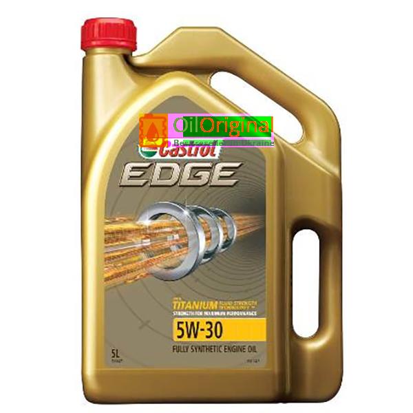 Моторное масло Castrol Edge FST 5w30
