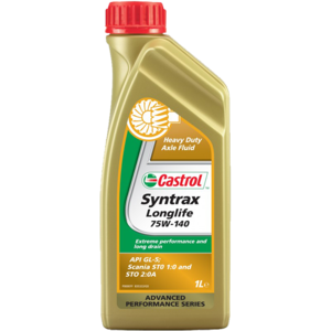 Моторное масло Castrol Syntrax Long Life 75W-140