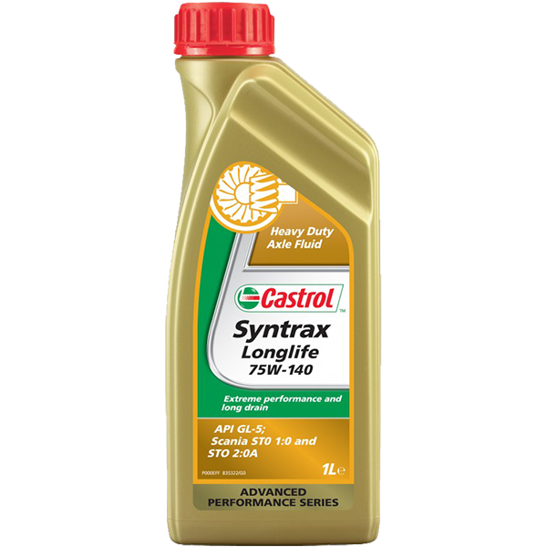 Castrol Syntrax Long Life 75W-140