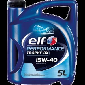 Моторное масло Elf Performance Trophy DX 15w-40