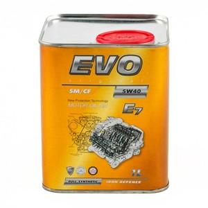 Моторное масло EVO E7 5W-40