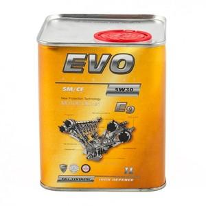 Моторное масло EVO Е9 5W-30