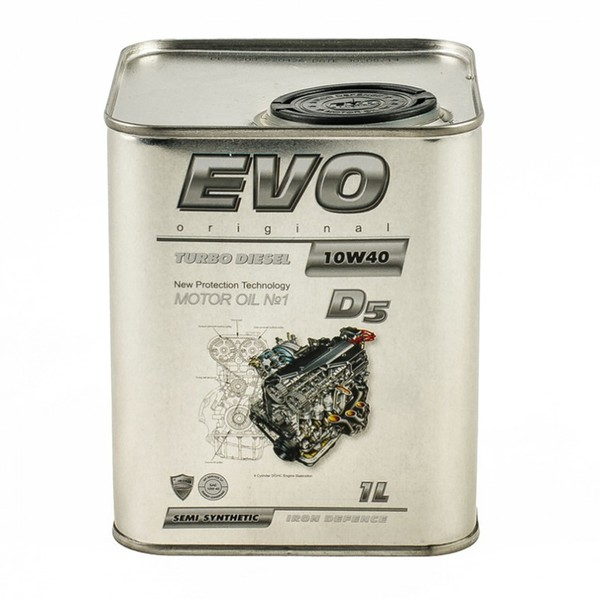 EVO Turbo Diesel D5 10W-40
