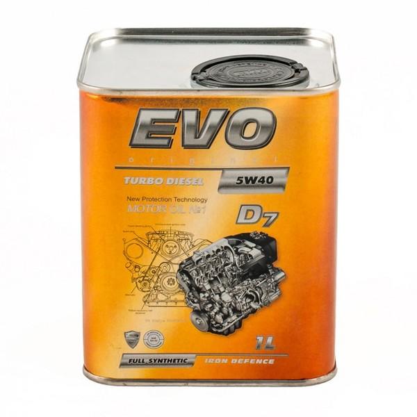 EVO Turbo Diesel D7 5W-40