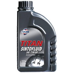 Моторное масло Fuchs Titan Sintofluid 75w-80