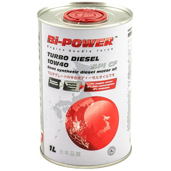 Japan Oil Bi-Power Turbo Diesel 10W-40