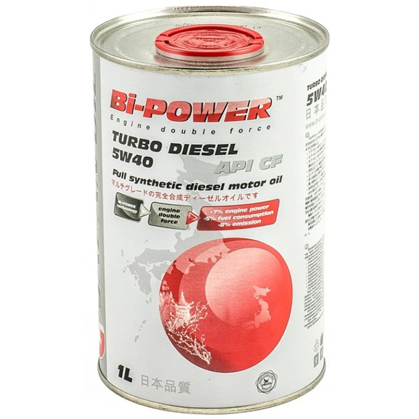 Japan Oil Bi-Power Turbo Diesel 5W-40
