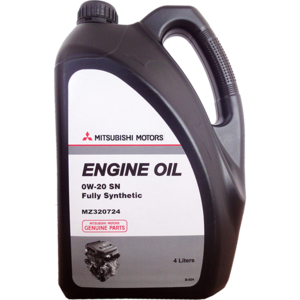Моторное масло Mitsubishi Engine Oil SN 0w-20 (MZ320724 MZ320723)