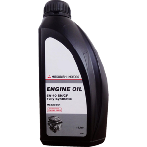 Моторное масло Mitsubishi Engine Oil SN/CF 5w-40 (MZ320361 MZ320362)