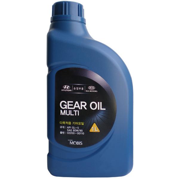 Mobis (Hyundai Kia) Gear Oil Multi SAE 80W-90 GL-5
