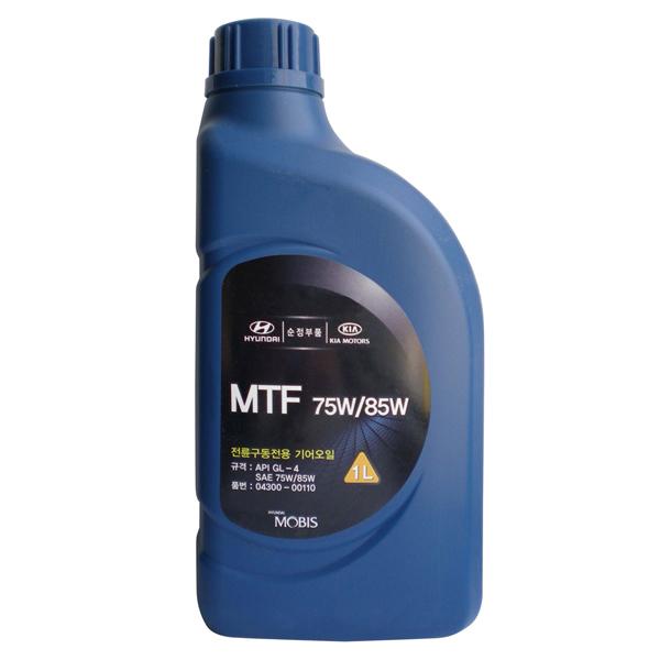 MOBIS (Hyundai Kia) MTF SAE 75W/85W API GL-4