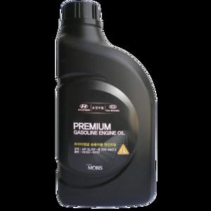 Моторное масло Mobis Premium Gasoline 5W-20