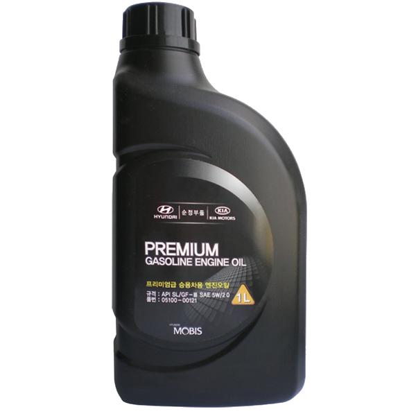 Mobis Premium Gasoline 5W-20