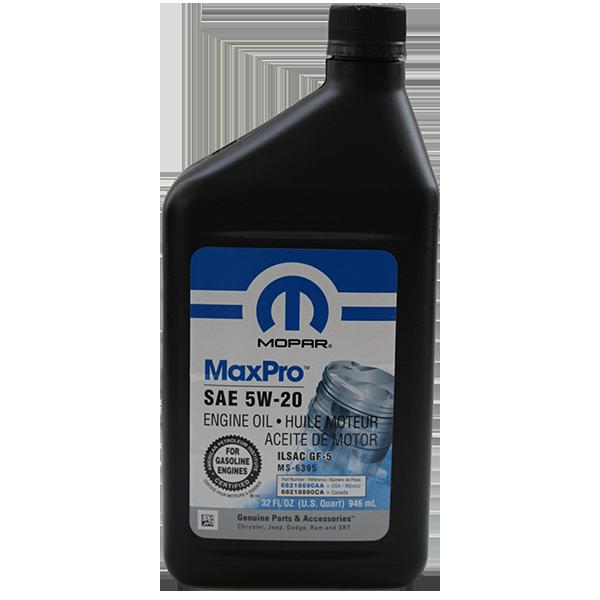 Mopar MaxPro 5W-20