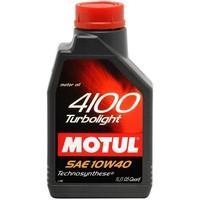 Моторное масло Motul 4100 Turbolight 10w-40