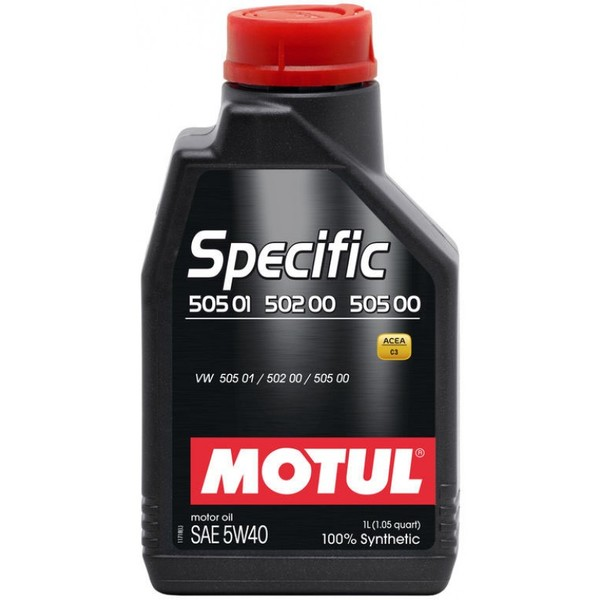 Motul Specific VW 505.01/502.00/505.00 5w-40