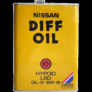 Моторное масло Nissan LSD GL-5 80W-90 (KLD31-80904)