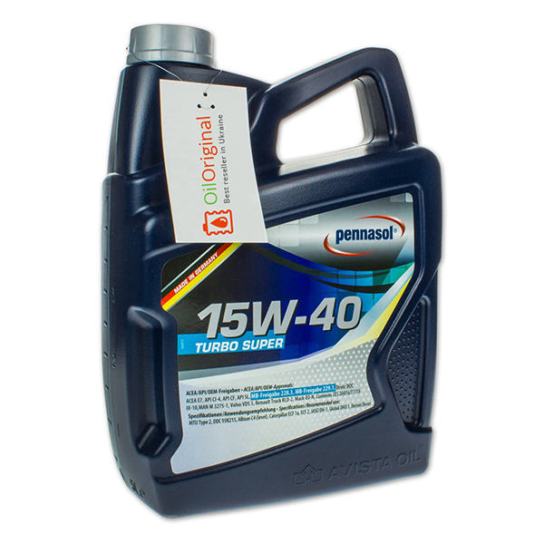 Pennasol Turbo Super 15W-40