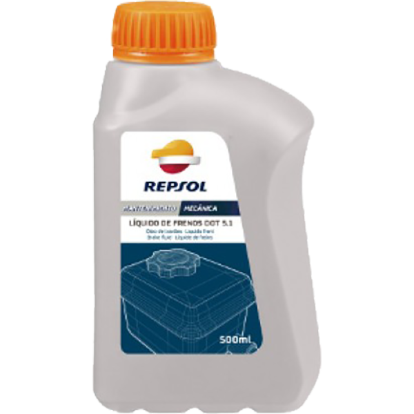 Repsol Liquido Frenos DOT-5.1