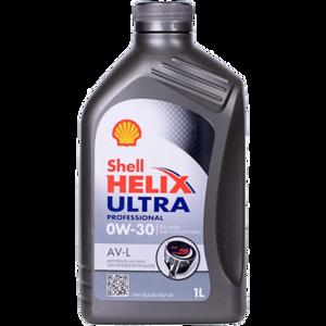 Моторное масло Shell Helix Ultra Professional AV-L 0W-30