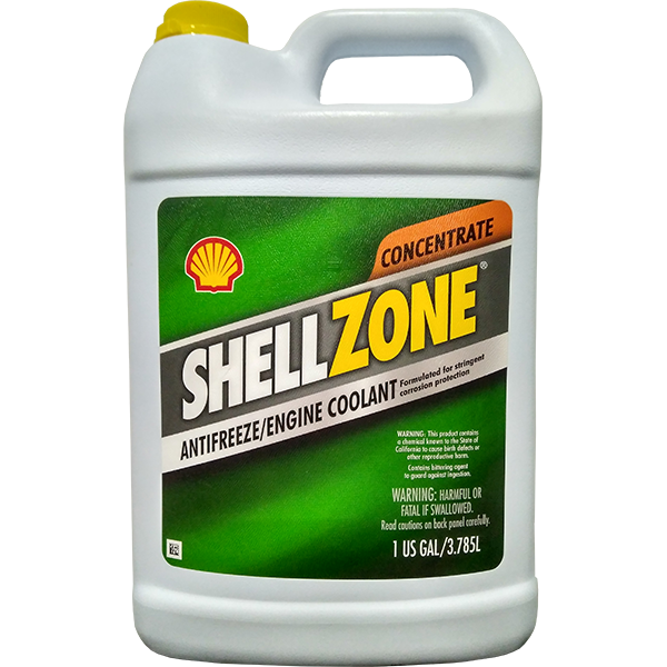Shell ShellZone Antifreeze Concentrate (GREEN)