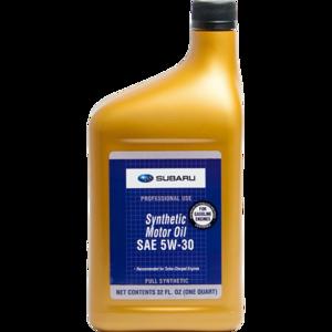 Моторное масло  Subaru Synthetic Motor Oil 5W-30