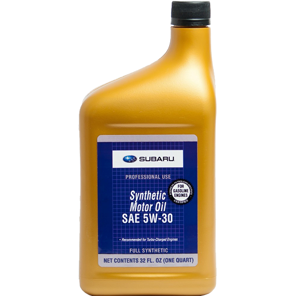 Subaru Synthetic Motor Oil 5W-30