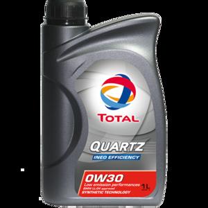 Моторное масло Total Quartz Ineo Efficiency 0w-30