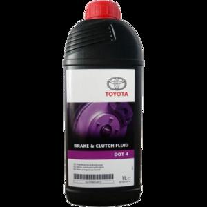 Моторное масло Toyota Brake & Clutch Fluid DOT 4