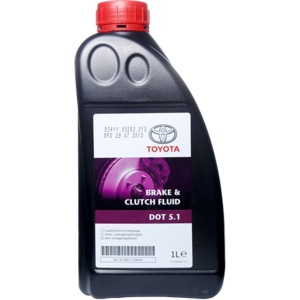 Моторное масло Toyota Brake & Clutch Fluid DOT 5.1