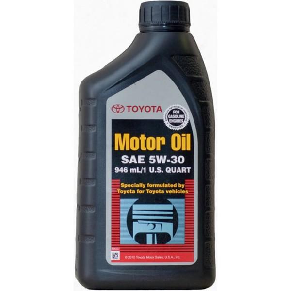 Toyota Motor Oil SN 5W-30 (00279-1QT5W)