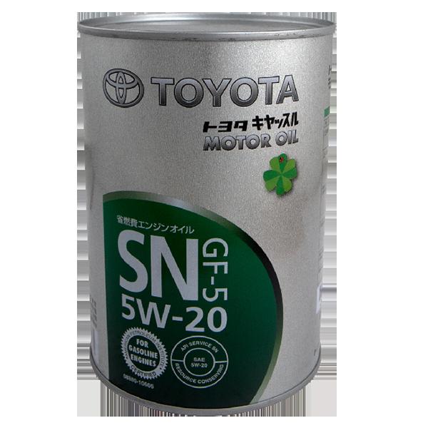 Toyota Motor Oil SN GF-5 5W-20