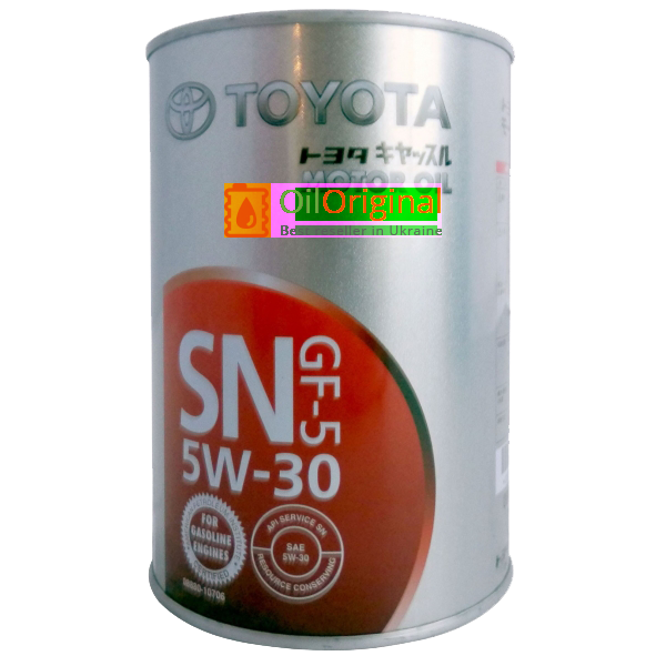 toyota motor oil sn/gf-5