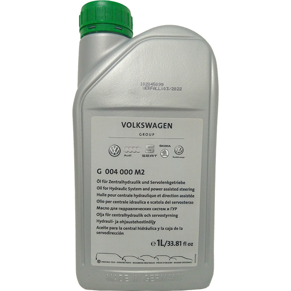 VAG Power Steering Fluid (G004000M2)