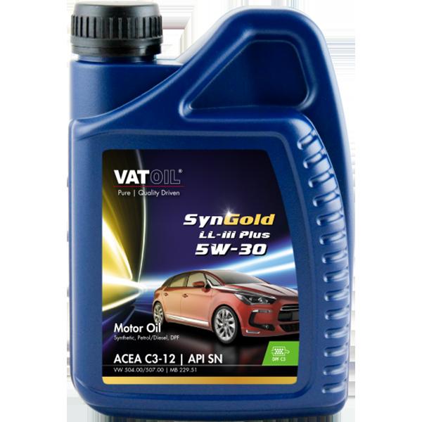 VatOil SynGold LL-III Plus 5W-30