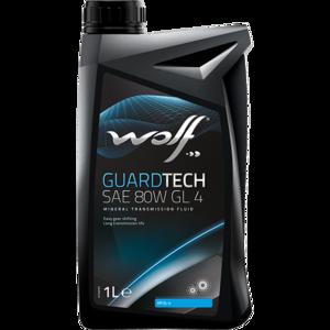 Моторное масло Wolf Guardtech 80W GL 4