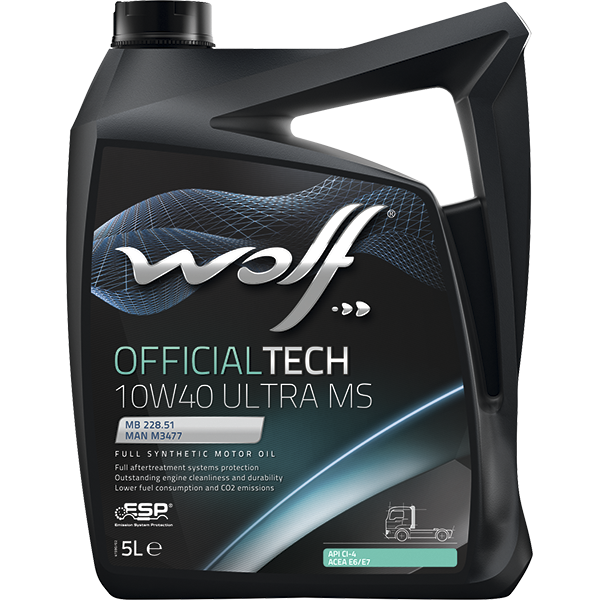 Wolf Officialtech 10W-40 Ultra MS