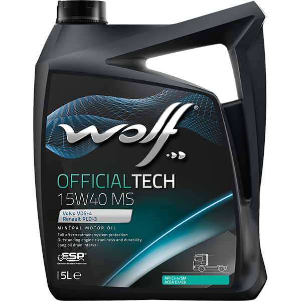 Wolf Officialtech 15W-40 MS