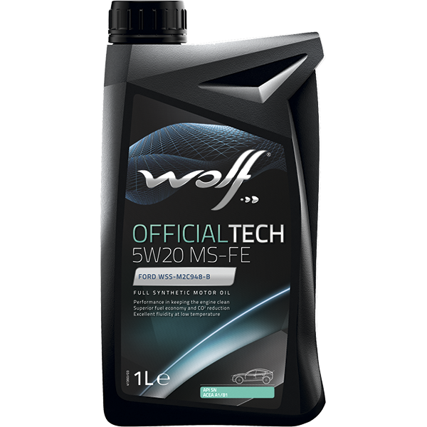 Wolf Officialtech 5W-20 MS-FE