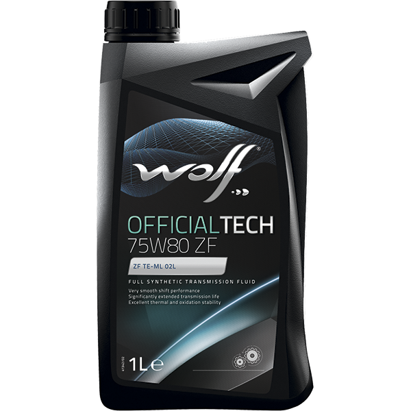 Wolf Officialtech 75W-80 ZF